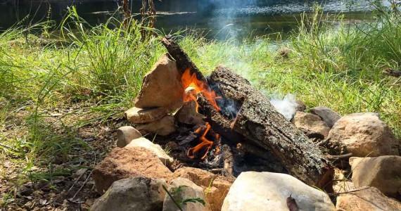 bushcraft fire