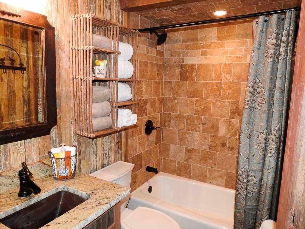 Cabin Bathroom Ox Ranch