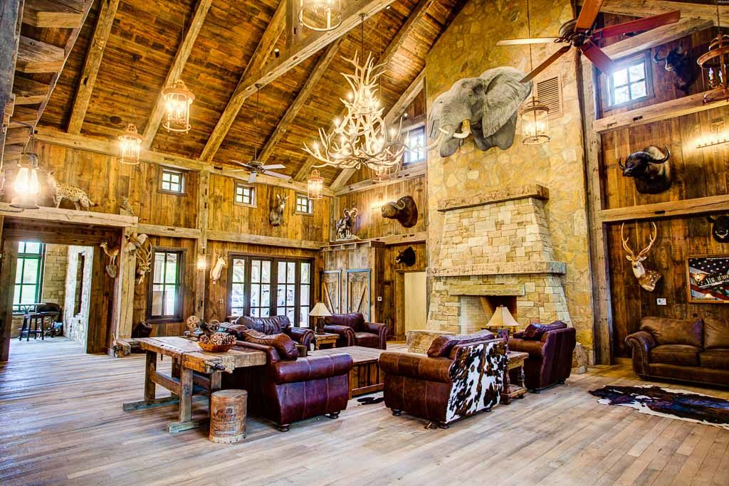 Hunting Man Cave Ideas Rustic