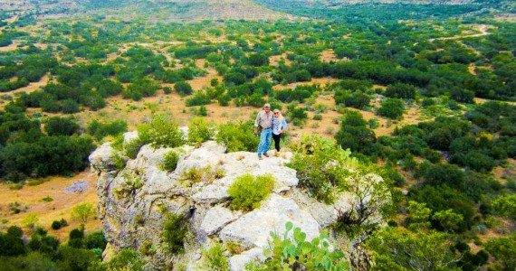 hiking mountain top Texas