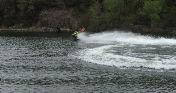 jet skis fast hunting