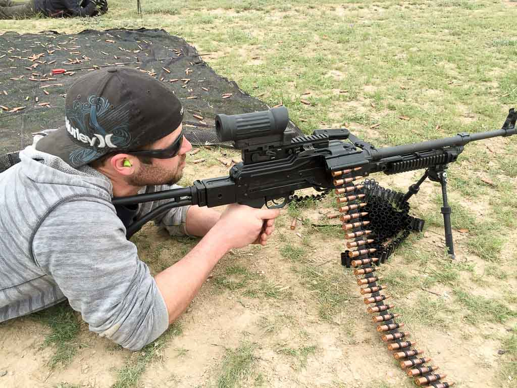 bachelor party pkm machine gun