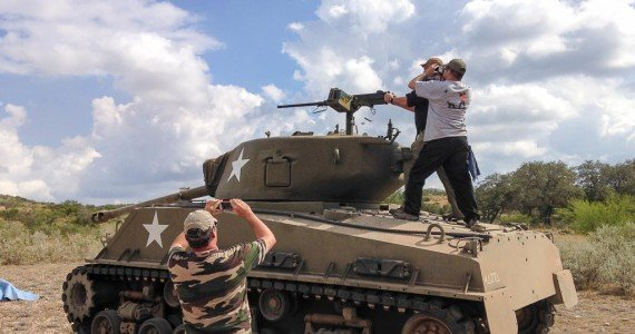 Machine Gun Shooting | Tank Driving | OX Ranch