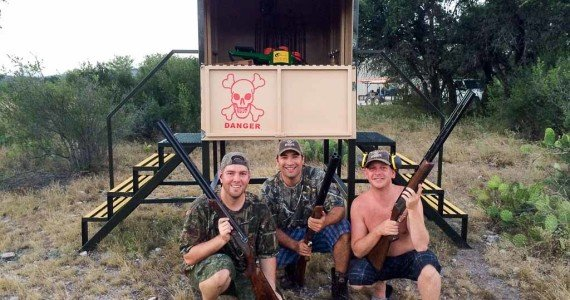 skeet shooting texas