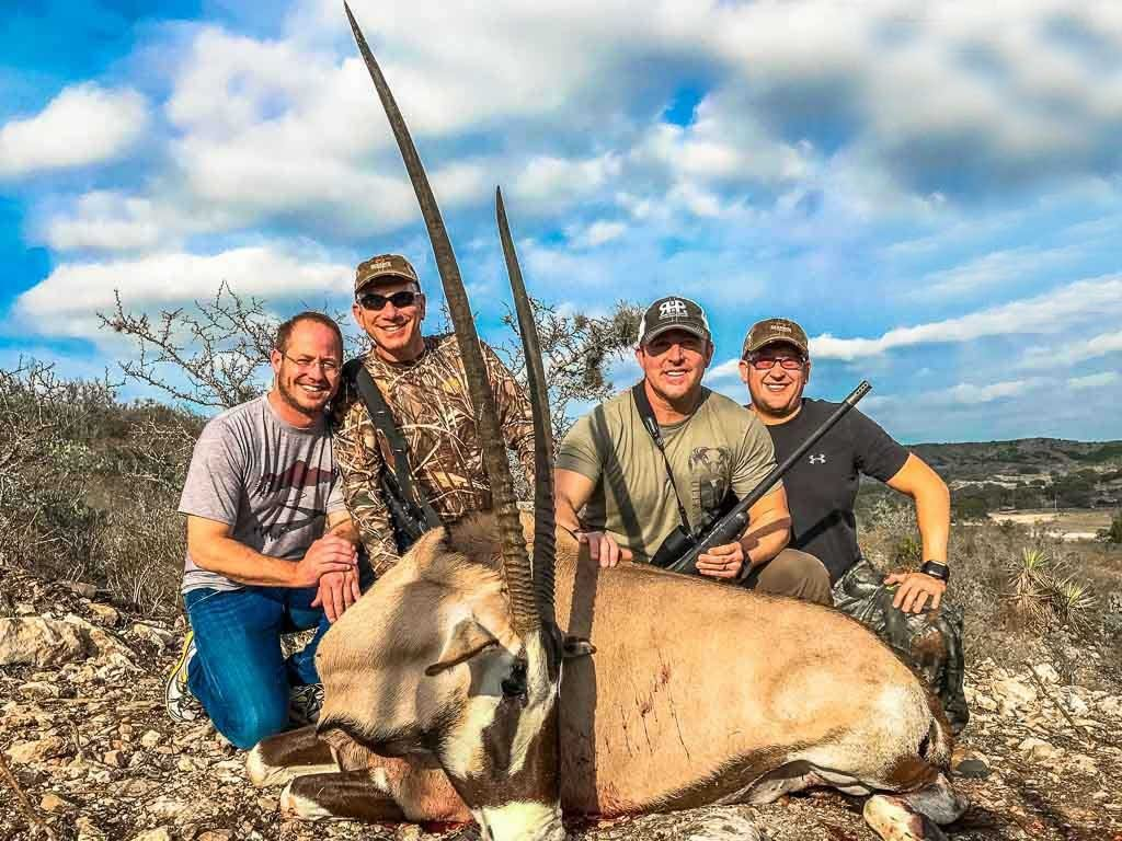 Gemsbok Hunting 60 Species To Hunt 18 000 Acres In
