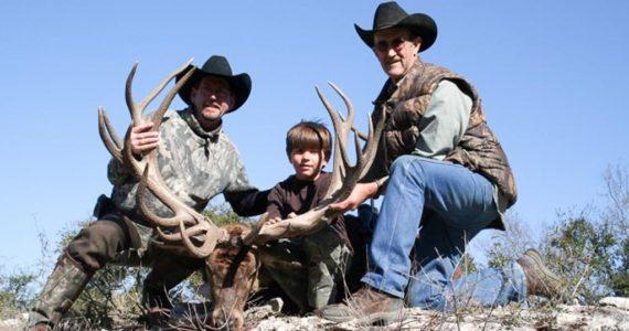 red deer trophy