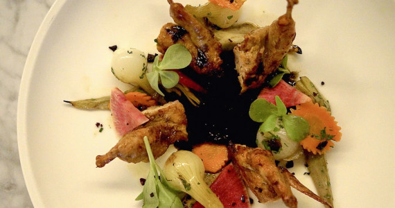 Vox Table's Texas Lockhart Quail catered to wedding