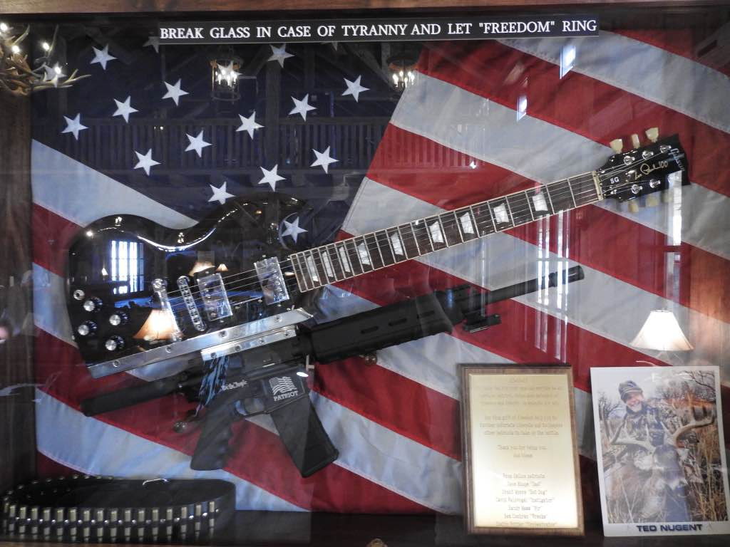 Ted Nugent birthday guitar