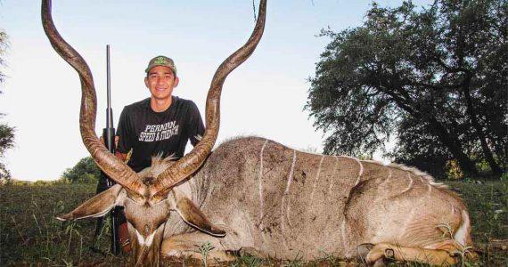 Texas kudu hunting